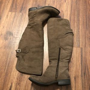 Kohl's high knee boots